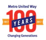 metro united way 100 logo